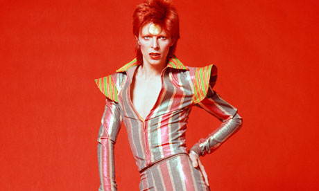 There's a starman waiting in the sky